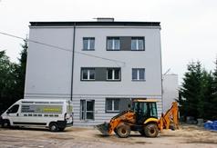 Na zdjęciu nowa siedziba wydziału geodezji.