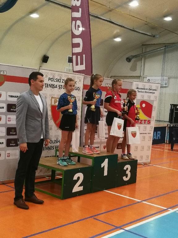 Zawodniczki na podium (link otworzy duże zdjęcie)