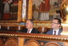 Na zdjęciu Starosta Kraśnicki Krzysztof Staruch i Wicestarosta Kraśnicki Karol Rychlewski. (link otworzy duże zdjęcie)