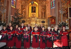 Na zdjęciu Zespół Wokalny Jubilat z Kraśnika. (link otworzy duże zdjęcie)