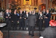Na zdjęciu Chór męski z Parafii pw. WNMP w Kraśniku. (link otworzy duże zdjęcie)