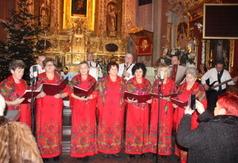 Na zdjęciu Kapela Czerwona Róża z Szastarki. (link otworzy duże zdjęcie)