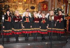 Na zdjęciu zespół Kalina Folk z Polichny. (link otworzy duże zdjęcie)