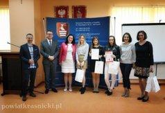 Laureaci Olimpiady i akcji promującej Honorowe Krwiodawstwo