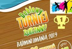 Plakat Badmintomania 2019