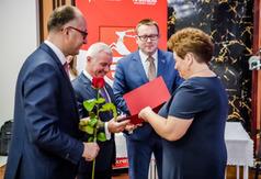 Wręczenie nagrody Starosty Kraśnickiego (link otworzy duże zdjęcie)