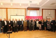 Na zdjęciu Starosta Kraśnicki Andrzej Rolla, Wicestarosta Kraśnicki Andrzej Cieśla i członek Zarząd