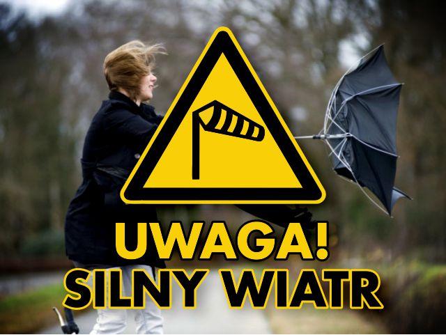 Grafika uwaga silny wiatr (link otworzy duże zdjęcie)