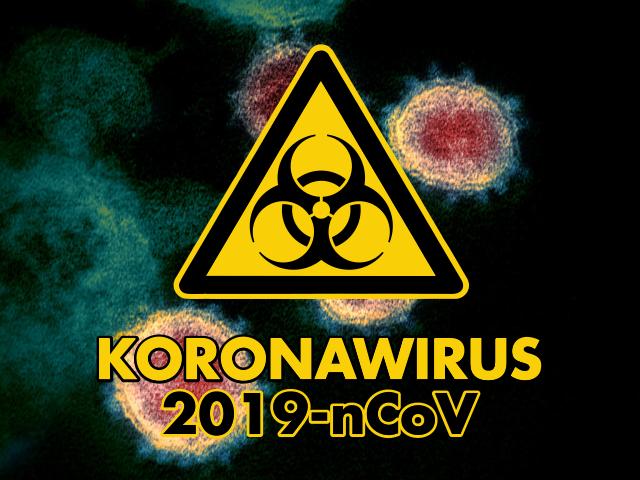Grafika - Uwaga! Koronawirus (link otworzy duże zdjęcie)