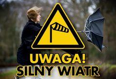 Grafika - Uwaga! Silny wiatr.