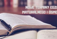 Grafika nowe terminy egzaminu maturalnego i ósmoklasisty