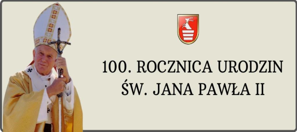 Grafika 100 rocznica urodzin Jana Pawła II (link otworzy duże zdjęcie)