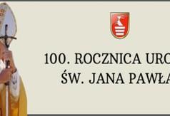 Grafika 100 rocznica urodzin Jana Pawła II