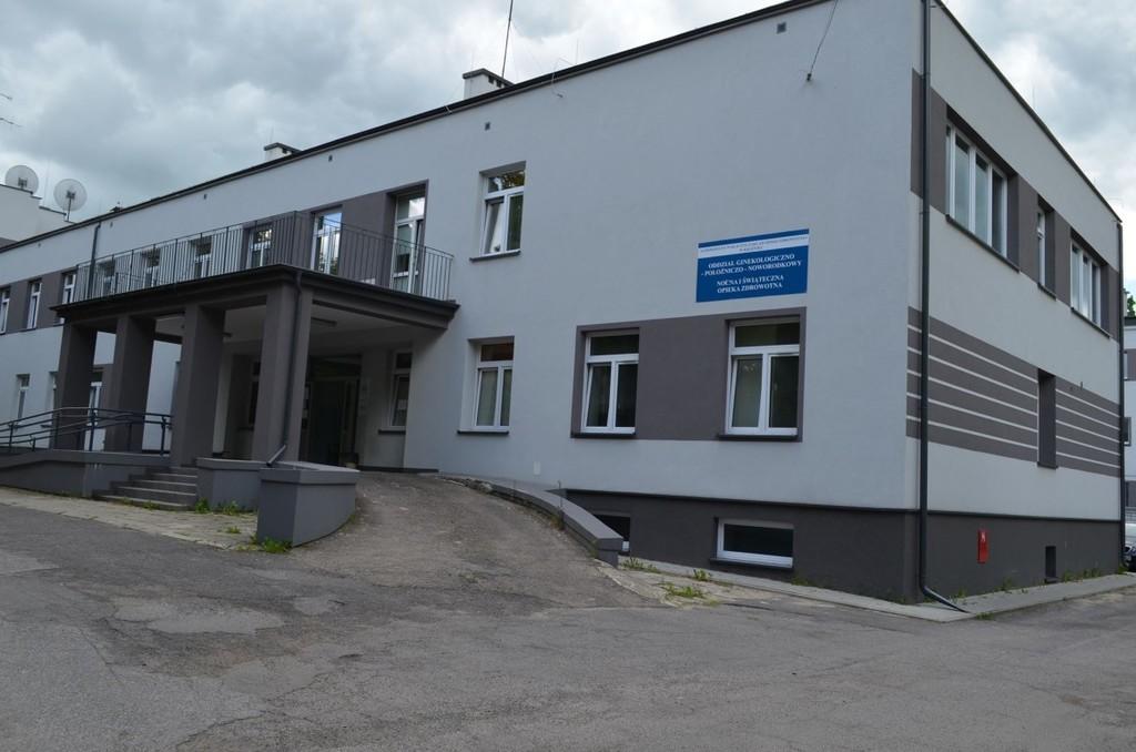Budynek Oddział Ginekologiczno-Położniczo-Noworodkowy. (link otworzy duże zdjęcie)