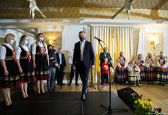 Prezydent Andrzej Duda i Kalina Folk, fot. Katarzyna Link/LUW (link otworzy duże zdjęcie)