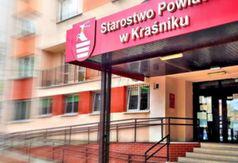 Grafika - Budynek Starostwa Powiatowego w Kraśniku
