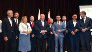 Podczas spotkania w Ośrodku Kultury w Janowie Lubelskim podpisano porozumienie w sprawie budowy linii ko