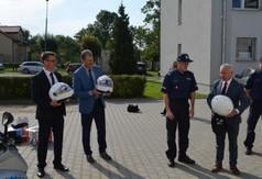 Starosta Kraśnicki Andrzej Rolla, Wicestarosta Kraśnicki Andrzej Cieśla i Przewodniczący Rady Po