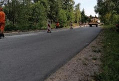 Budowa chodnika dla pieszych przy drodze powiatowej nr 2717L relacji Słodków- Rzeczyca- Węglin