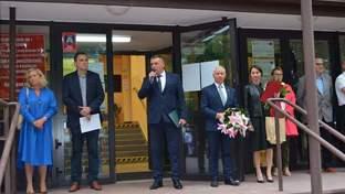 Uroczyste rozpoczęcie roku szkolnego w Zespole Szkół numer 1 w Kraśniku
