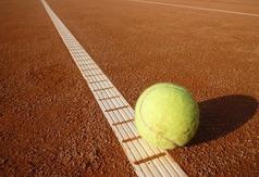 Obrazek z piłką tenisową