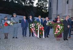 Uczestnicy uroczystości 81. rocznicy napaści Rosji Sowieckiej na Polskę