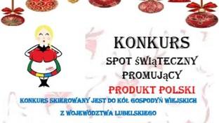 """Grafika do konkursu na """"Spot Świąteczny promujący PRODUKT POLSKI""""."""