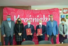 Zastępca Prezesa firmy BUDROMOST-STARACHOWICE SP. Z O.O. Grzegorz Adamus, Dyrektor Zarządu Dróg P