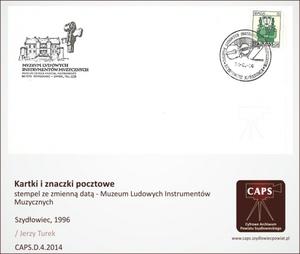 Stempel ze zmienną datą Muzeum Ludowych Instrumentów Muzycznych [300x254]