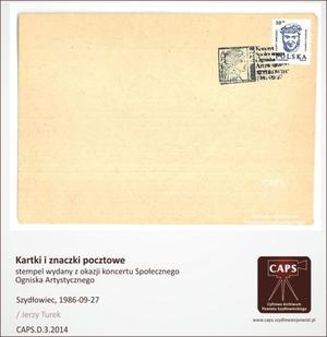 Stempel wydany z okazji koncertu Społecznego Ogniska Artystycznego [300x309]