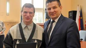 Krzysztof Sasal, pierwsze miejsce