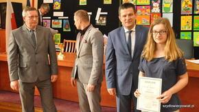 Najlepsza młoda szachistka regionu Weronika Posuniak zaliczała się do ścisłej czołówki we wszystki