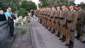Apel Poległych odbył się z udziałem Kompanii Reprezentacyjnej Straży Granicznej