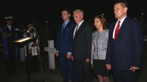 Włodzimierz Górlicki - Starosta Szydłowiecki, Anita Gołosz, Przewodnicząca Rady Powiatu, Krzysztof B
