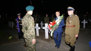 Wojciech Grobelski, Podpułkownik Rezerwy Straży Granicznej oraz Marek Sokołowski