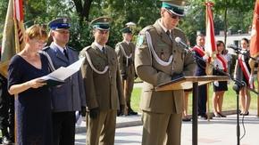 płk SG Andrzej Rytwiński Komendant Nadwiślańskiego Oddziału Straży Granicznej