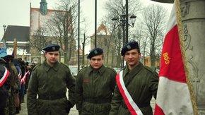 W piątek 20 stycznia punktualnie o godz. 13.00 przed szydłowieckim ratuszem rozpoczęły się Centralne
