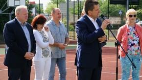 uroczystego otwarcia Igrzysk, dokonał Włodzimierz Górlicki, starosta szydłowiecki