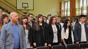 Rozpoczęcie roku szkolnego w ZSO im. Henryka Sienkiewicza w Szydłowcu