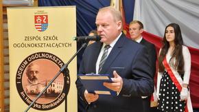 Dyrektor ZSO w Szydłowcu, Karol Kopycki