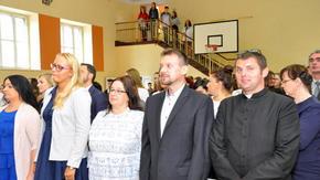 Rozpoczęcie roku szkolnego w ZSO im. Henryka Sienkiewicza Szydłowcu