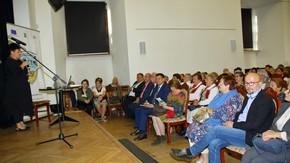 zgromadzona publiczność w Szydłowieckim Centrum Kultury – Zamek, fot. Zbigniew Tomczyk
