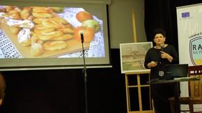 wystąpienie Jolanty Kubik, która przedstawiła kulisy powstawania publikacji, fot. Zbigniew Tomczyk