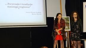 """Aneta Pytoń-Grabda oraz Beata Mnich opowiedziały o programie innowacji pedagogicznej """"Tradycje i zwyc"""