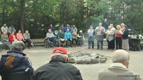 Mieszkańcy DPS w Łaziskach pożegnali lato