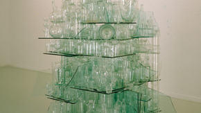 CLEAR GLASS STACK, fot.G.Johansson