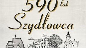 grafika 590 lat Szydłowca