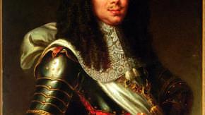 Portret Michała Korybuta Wiśniowieckiego, nieznany malarz, ol., pł.,   XVIII w.  Fot. A. Ring, B. Trop
