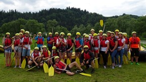 gotowi do Raftingu