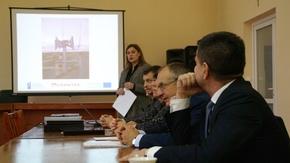 spotkanie poprowadziła Magdalenina Kisiel kierująca Wydziałem PR